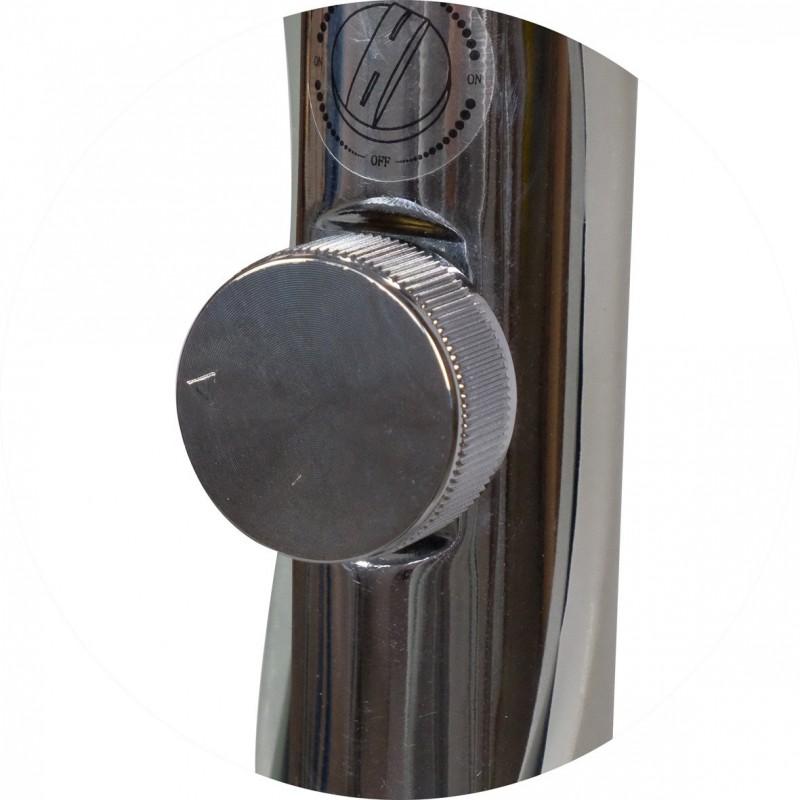 Lampe torche rechargeable Maglite LED MAG-TAC, tête non-crénelée livrée en coffret